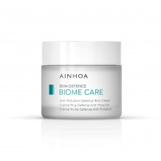 AINHOA Biome Care Anti-Pollution Defence Rich Cream – Keskkonnasaaste vastane rikkalik näokreem (kuivale nahale) 50 ml